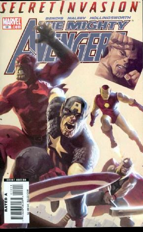 Mighty Avengers #12 Secret Invasion Marvel comic book